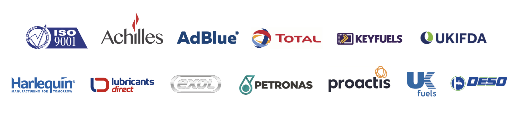 Ford Fuels Affiliate Logos