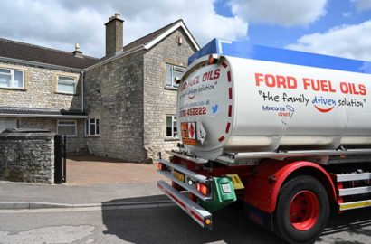 Heating oil, home delivered